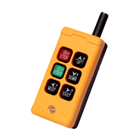 Industrial 6 Key Wireless Single Speed Crane Control
