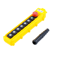 Industrial Eight Buttons Bridge Crane Pendant Control