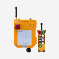 Industrial 7 Buttons Wireless Single Speed Crane Remote Control